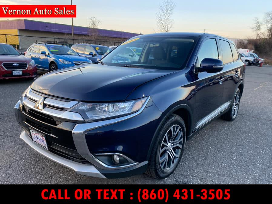 Used 2016 Mitsubishi Outlander in Manchester, Connecticut | Vernon Auto Sale & Service. Manchester, Connecticut