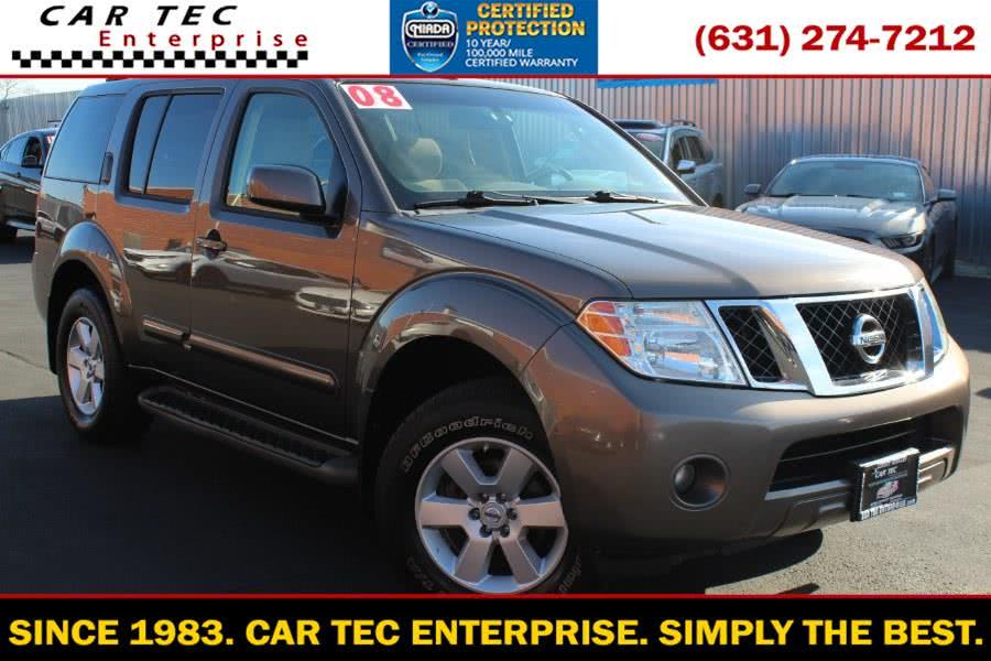 Used 2008 Nissan Pathfinder in Deer Park, New York | Car Tec Enterprise Leasing & Sales LLC. Deer Park, New York