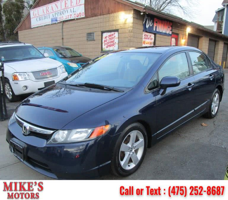 Used 2006 Honda Civic Sdn in Stratford, Connecticut | Mike's Motors LLC. Stratford, Connecticut