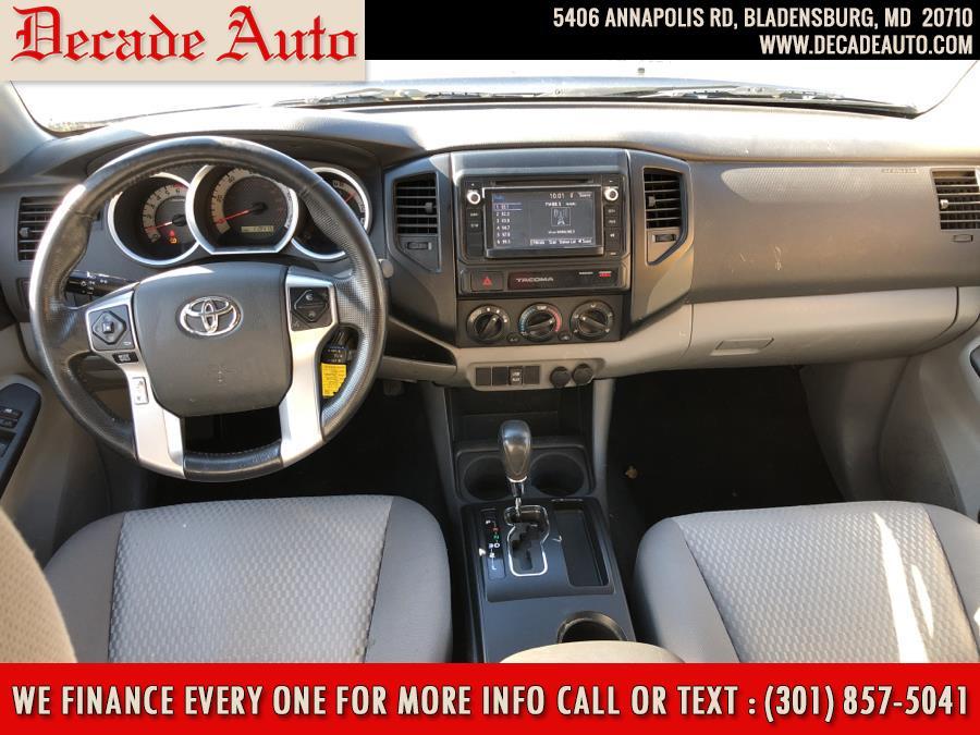 Used Toyota Tacoma 2WD Double Cab I4 AT PreRunner (Natl) 2015   Decade Auto. Bladensburg, Maryland