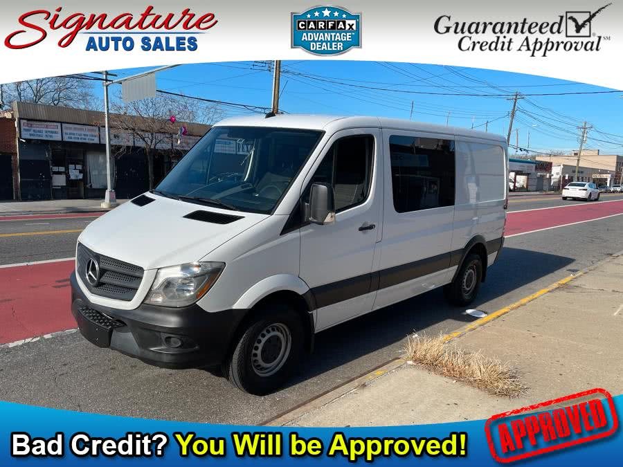 Used 2017 Mercedes-Benz Sprinter Crew Van in Franklin Square, New York | Signature Auto Sales. Franklin Square, New York