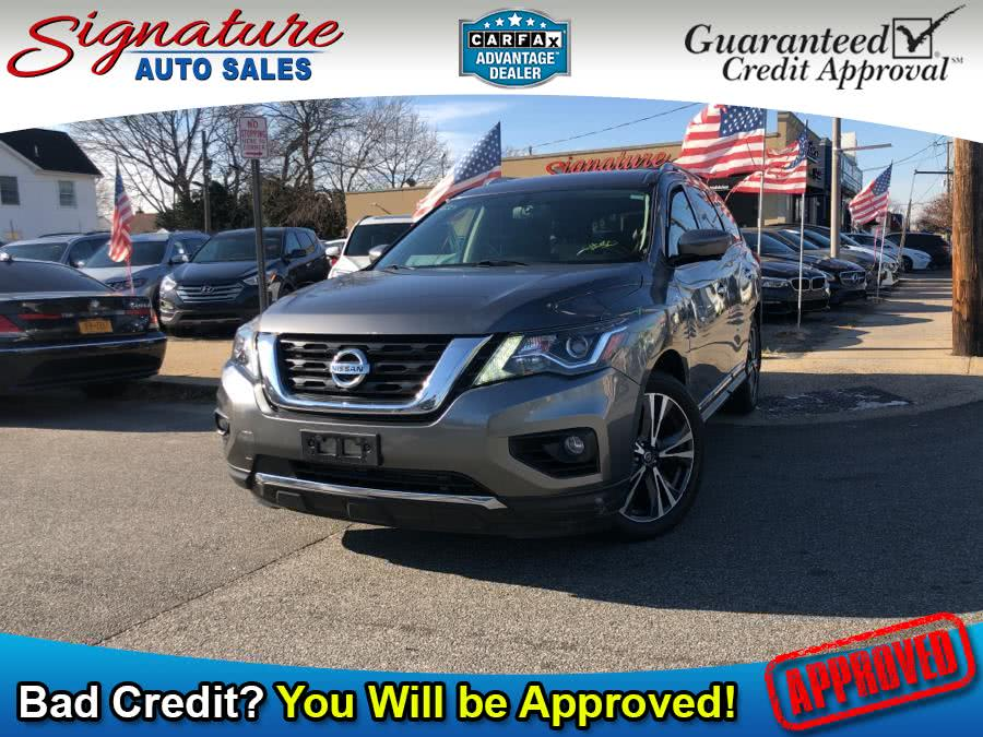 Used 2017 Nissan Pathfinder in Franklin Square, New York | Signature Auto Sales. Franklin Square, New York