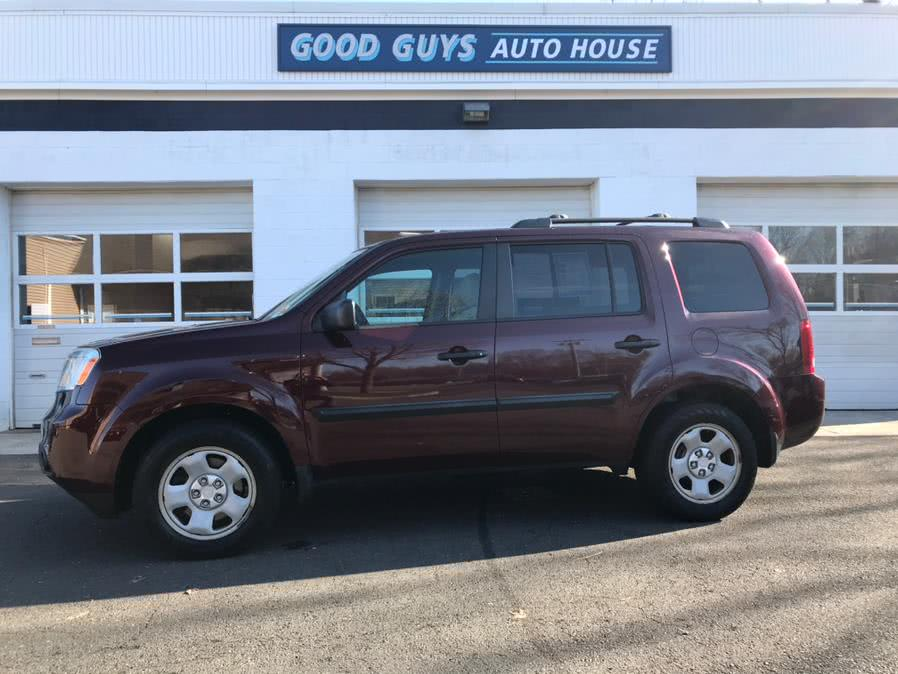2013 Honda Pilot 4WD 4dr LX, available for sale in Southington, CT