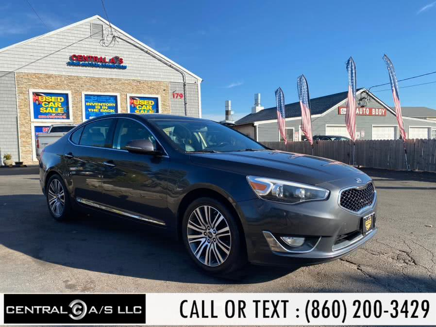 Used 2015 Kia Cadenza in East Windsor, Connecticut | Central A/S LLC. East Windsor, Connecticut