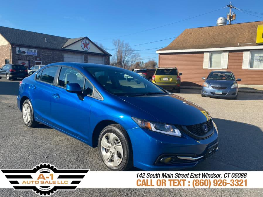 Used 2013 Honda Civic Sdn in East Windsor, Connecticut | A1 Auto Sale LLC. East Windsor, Connecticut