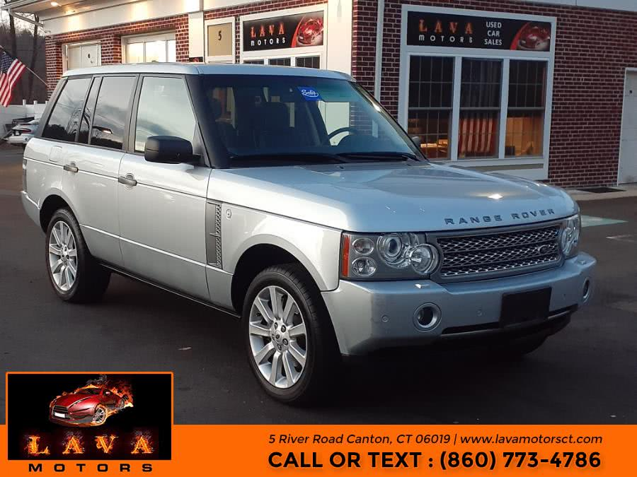 Used 2008 Land Rover Range Rover in Canton, Connecticut | Lava Motors. Canton, Connecticut