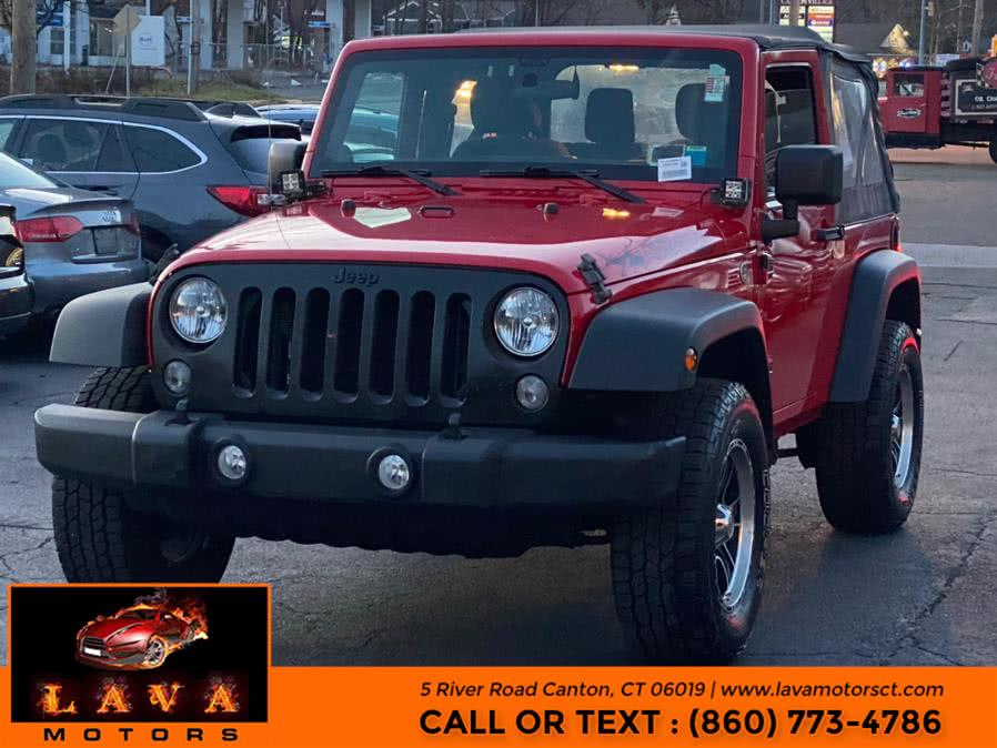 Used 2014 Jeep Wrangler in Canton, Connecticut | Lava Motors. Canton, Connecticut