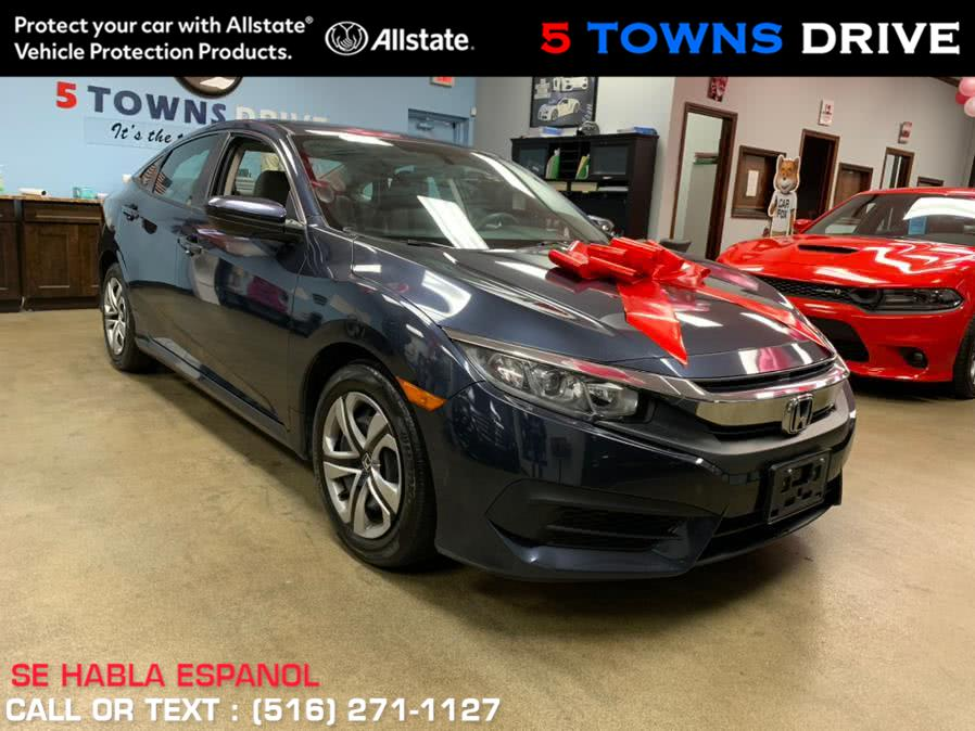 Used Honda Civic Sedan LX CVT 2017 | 5 Towns Drive. Inwood, New York