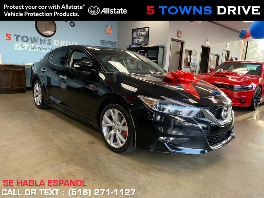 Used 2017 Nissan Maxima SV in Inwood, New York | 5 Towns Drive. Inwood, New York