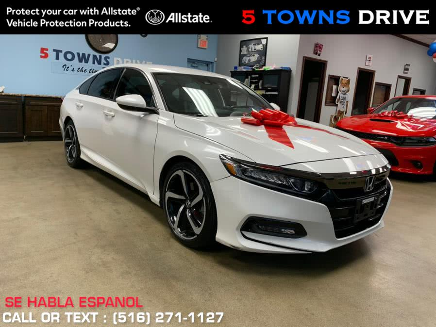 Used Honda Accord Sedan Sport 1.5T CVT 2018 | 5 Towns Drive. Inwood, New York