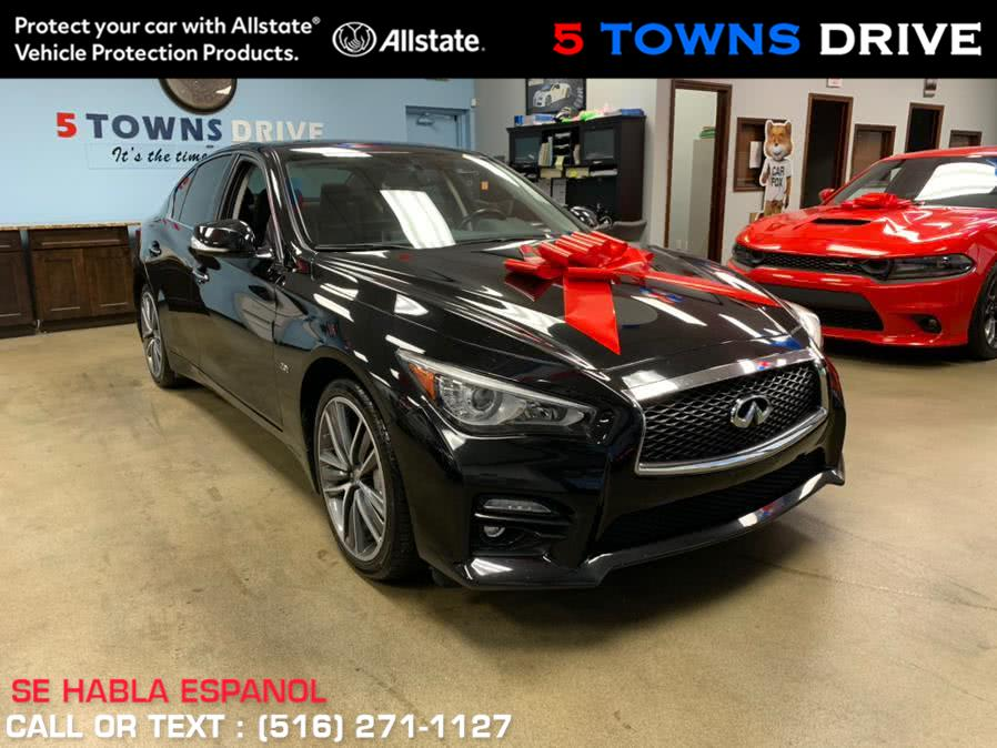 Used 2017 INFINITI Q50 SPORT in Inwood, New York | 5 Towns Drive. Inwood, New York