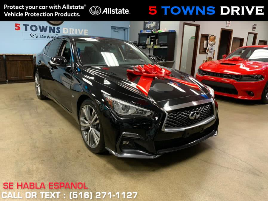Used 2018 INFINITI Q50 SPORT in Inwood, New York | 5 Towns Drive. Inwood, New York