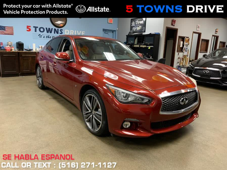 Used 2014 Infiniti Q50 in Inwood, New York | 5 Towns Drive. Inwood, New York