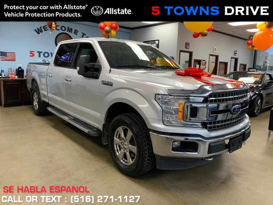 Used Ford F-150 XTR PKG 5.5 Footlong Bed XLT 4WD SuperCrew 5.5'' Box 2019 | 5 Towns Drive. Inwood, New York