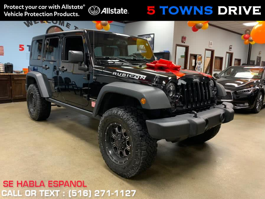 Used Jeep Rubicon Wrangler JK Unlimited Rubicon 4x4 2018   5 Towns Drive. Inwood, New York