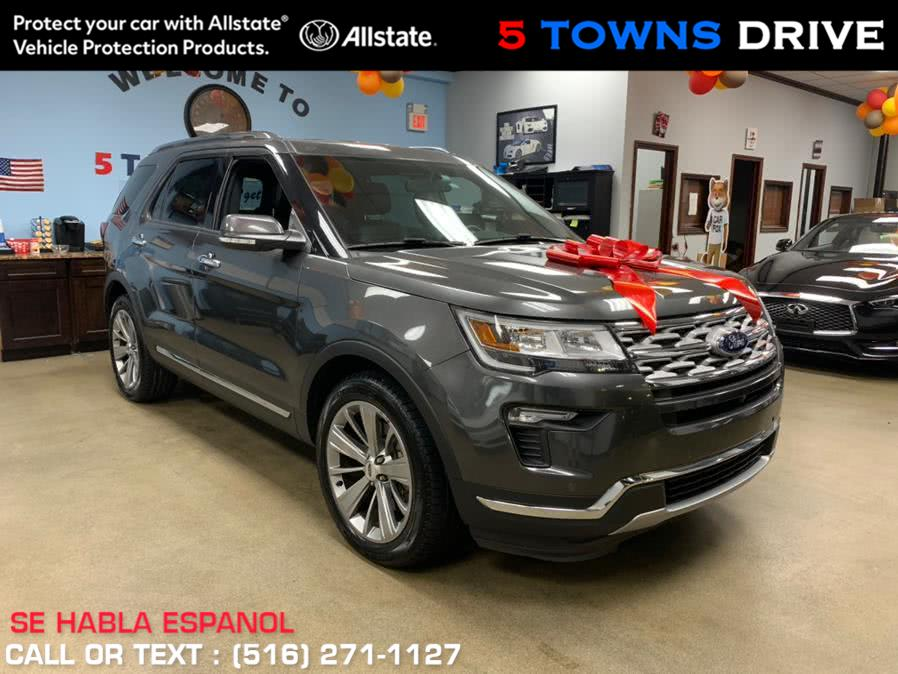 Used Ford Explorer Limited FWD 2018 | 5 Towns Drive. Inwood, New York