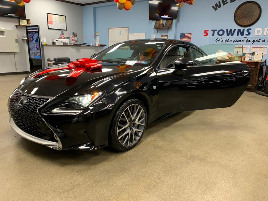 Used Lexus RC 350 F SPORT 2dr Cpe AWD 2015 | 5 Towns Drive. Inwood, New York