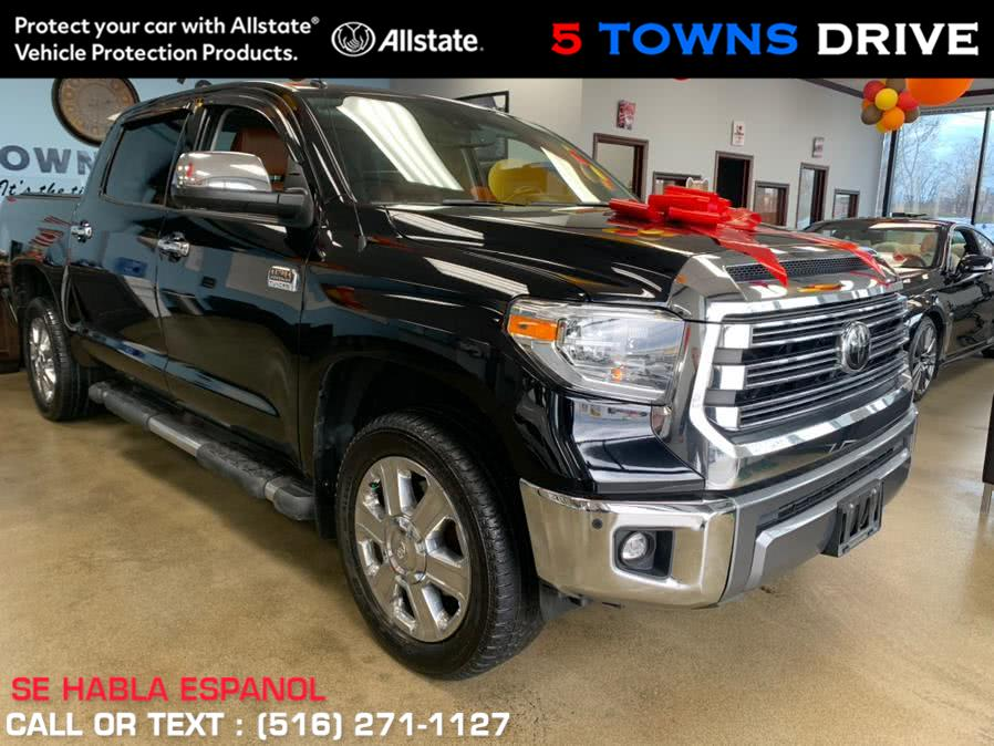 Used Toyota Tundra 4WD 1794 EDITION 1794 Edition CrewMax 5.5'' Bed 5.7L (Natl) 2018 | 5 Towns Drive. Inwood, New York