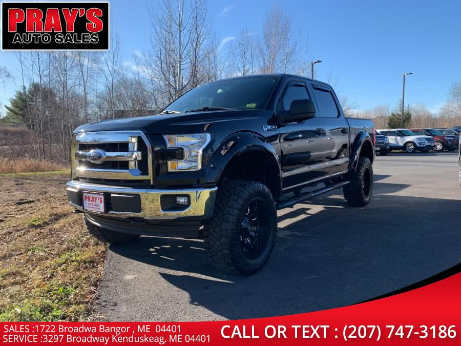 Used Ford F-150 XLT 4WD SuperCrew 6.5'' Box 2017 | Pray's Auto Sales . Bangor , Maine