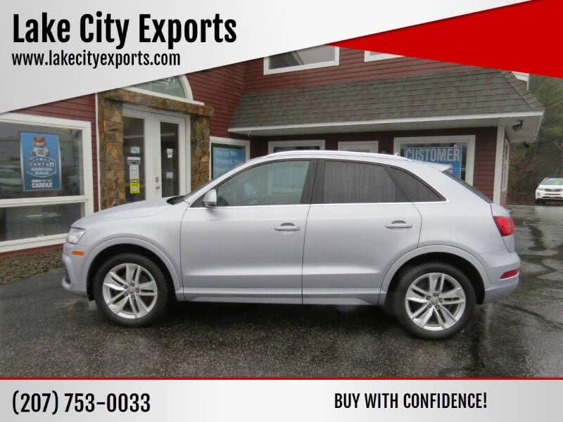 Used Audi Q3 2.0T quattro Premium Plus AWD 4dr SUV 2016 | Lake City Exports Inc. Auburn, Maine