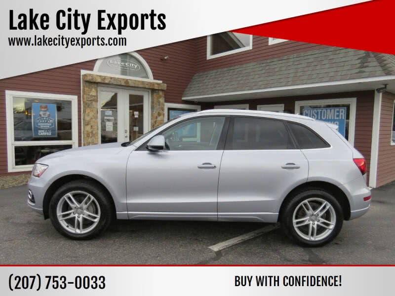 Used Audi Q5 2.0T quattro Premium Plus AWD 4dr SUV 2015 | Lake City Exports Inc. Auburn, Maine