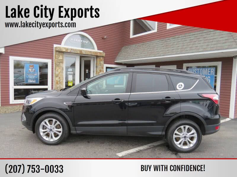 Used Ford Escape SE AWD 4dr SUV 2018 | Lake City Exports Inc. Auburn, Maine