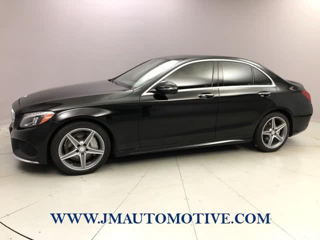 Used 2016 Mercedes-benz C-class in Naugatuck, Connecticut | J&M Automotive Sls&Svc LLC. Naugatuck, Connecticut