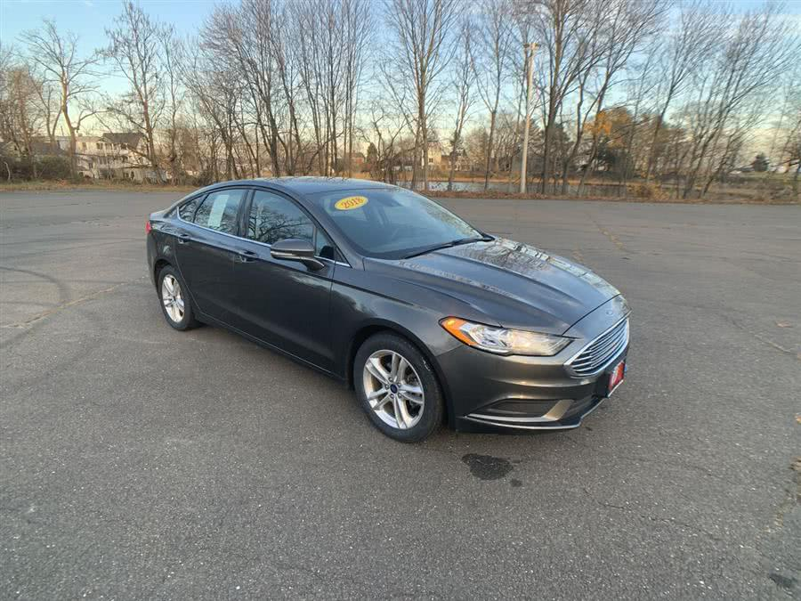 Used Ford Fusion SE FWD 2018 | Wiz Leasing Inc. Stratford, Connecticut