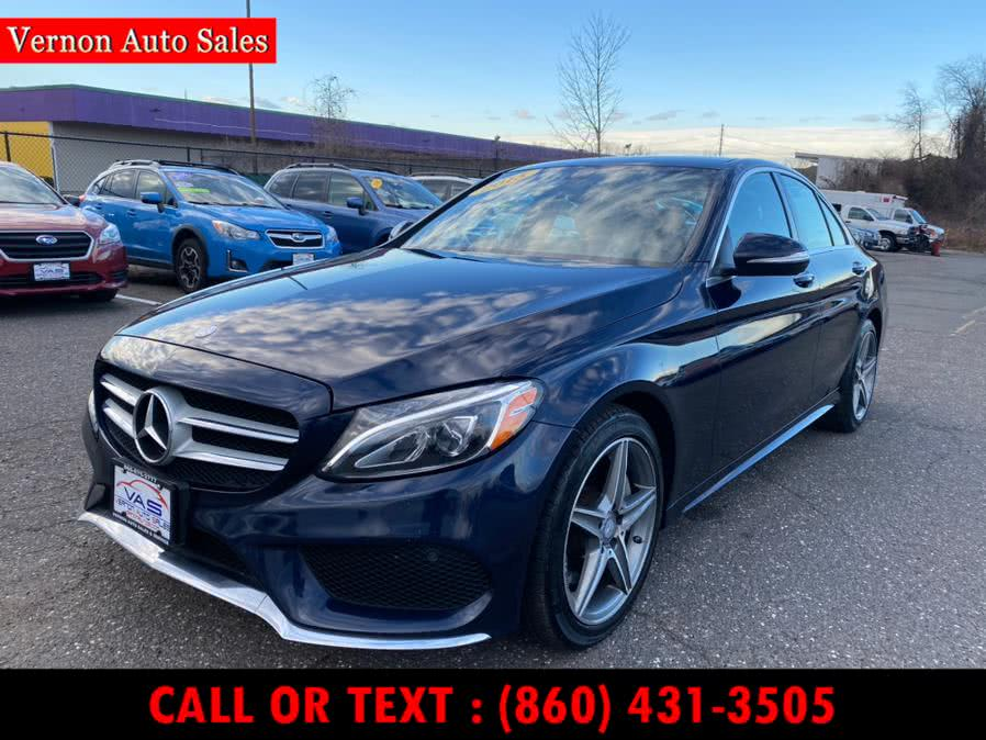 Used Mercedes-Benz C-Class 4dr Sdn C 300 Sport 4MATIC 2015 | Vernon Auto Sale & Service. Manchester, Connecticut