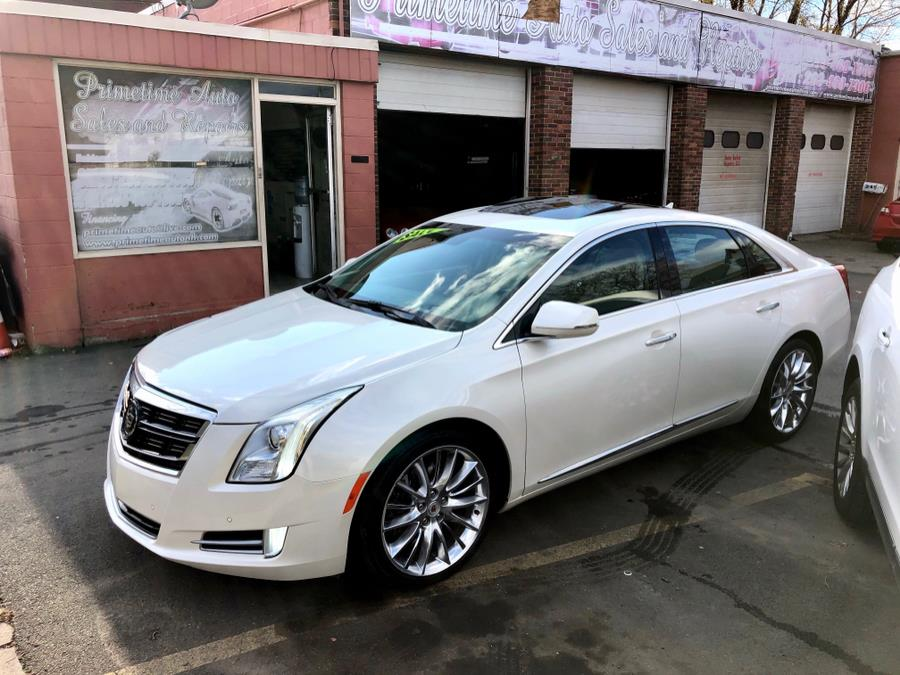 Used Cadillac XTS 4dr Sdn Vsport Platinum AWD 2014 | Primetime Auto Sales and Repair. New Haven, Connecticut