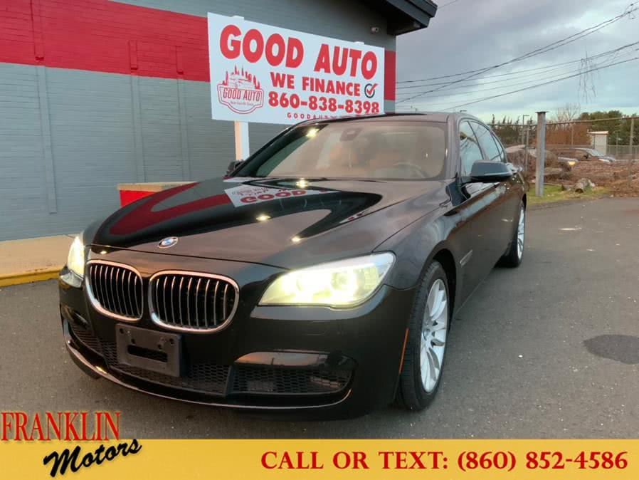 Used 2014 BMW 7 Series in Hartford, Connecticut | Franklin Motors Auto Sales LLC. Hartford, Connecticut