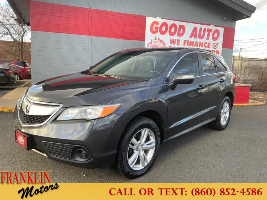 Used 2013 Acura RDX in Hartford, Connecticut | Franklin Motors Auto Sales LLC. Hartford, Connecticut