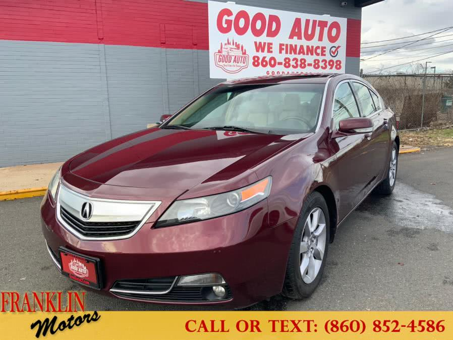 Used 2013 Acura TL in Hartford, Connecticut | Franklin Motors Auto Sales LLC. Hartford, Connecticut