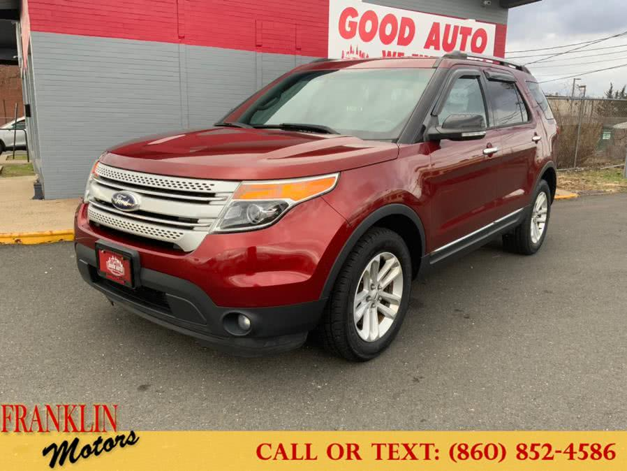 Used 2014 Ford Explorer in Hartford, Connecticut | Franklin Motors Auto Sales LLC. Hartford, Connecticut