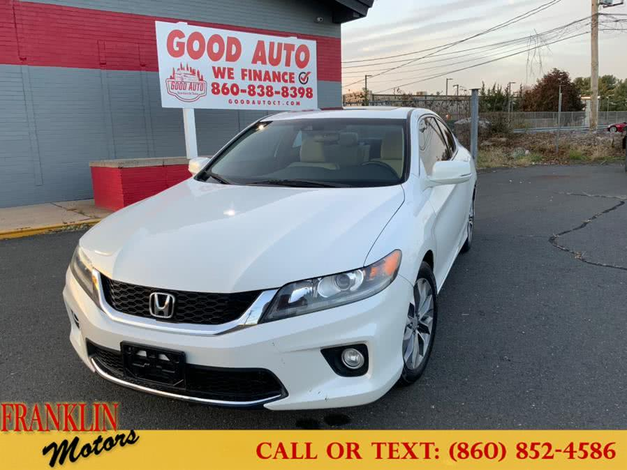 Used 2014 Honda Accord Coupe in Hartford, Connecticut | Franklin Motors Auto Sales LLC. Hartford, Connecticut
