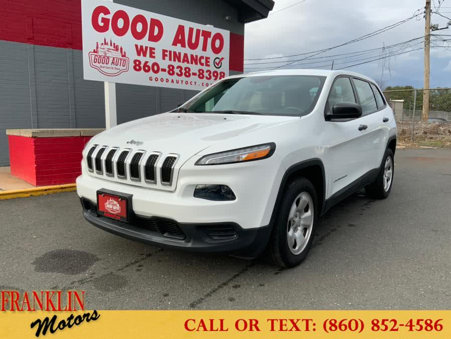 Used 2017 Jeep Cherokee in Hartford, Connecticut | Franklin Motors Auto Sales LLC. Hartford, Connecticut