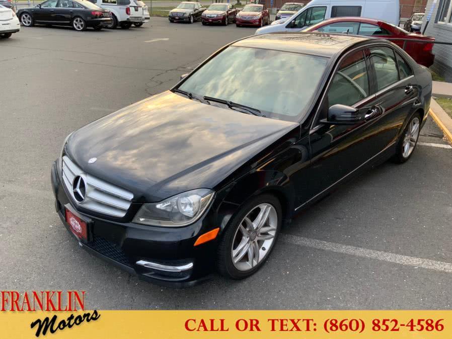 Used 2012 Mercedes-Benz C-Class in Hartford, Connecticut | Franklin Motors Auto Sales LLC. Hartford, Connecticut