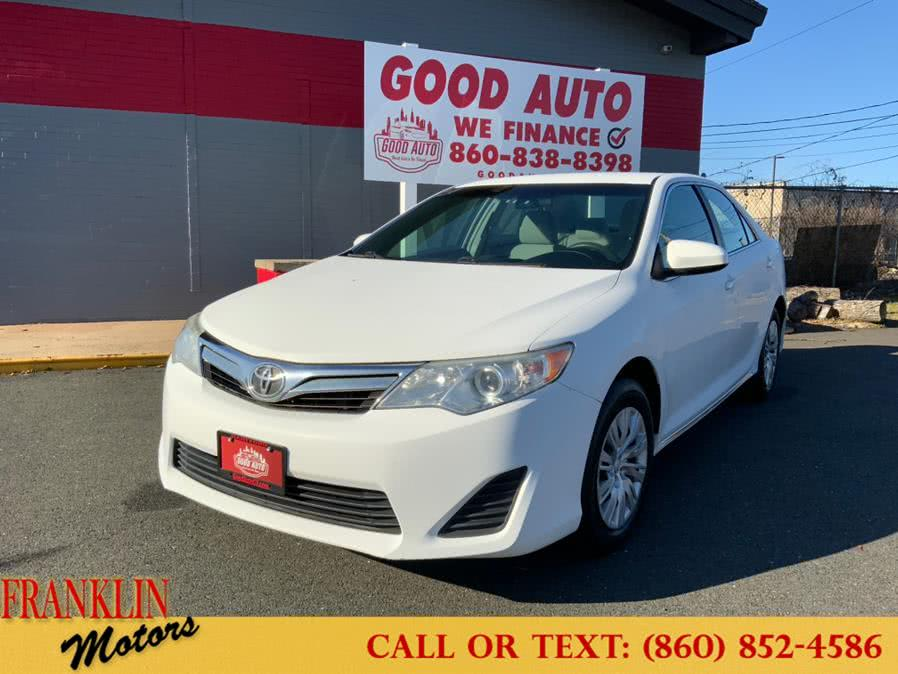 Used 2012 Toyota Camry in Hartford, Connecticut   Franklin Motors Auto Sales LLC. Hartford, Connecticut