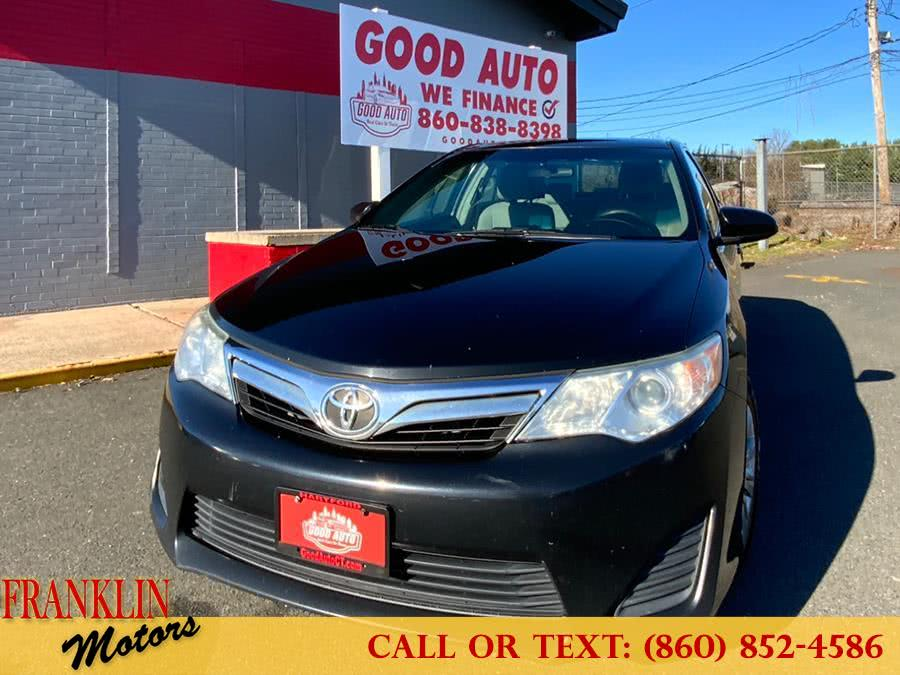 Used 2014 Toyota Camry in Hartford, Connecticut | Franklin Motors Auto Sales LLC. Hartford, Connecticut