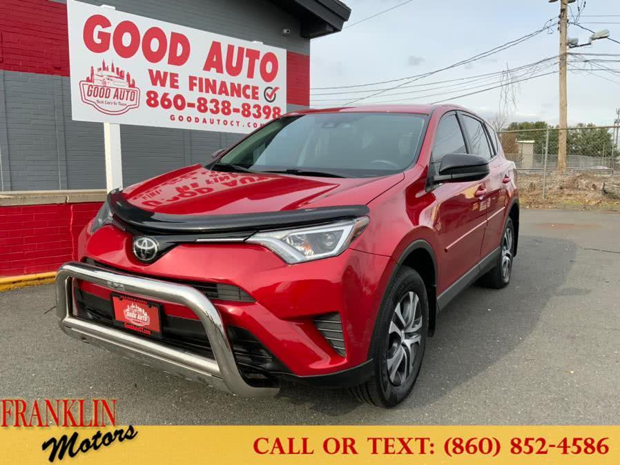 Used 2017 Toyota RAV4 in Hartford, Connecticut | Franklin Motors Auto Sales LLC. Hartford, Connecticut