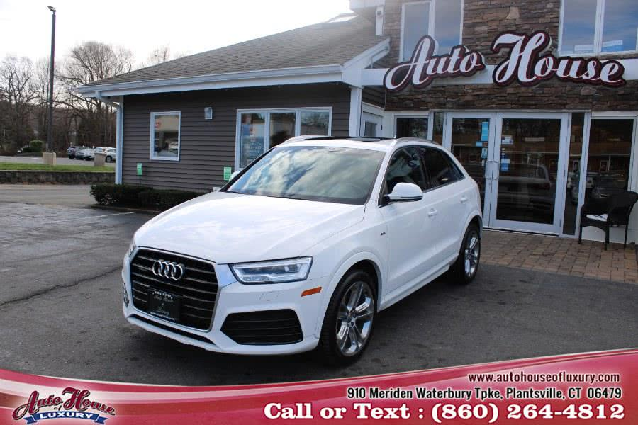 Used Audi Q3 2.0 TFSI Prestige quattro AWD 2017 | Auto House of Luxury. Plantsville, Connecticut