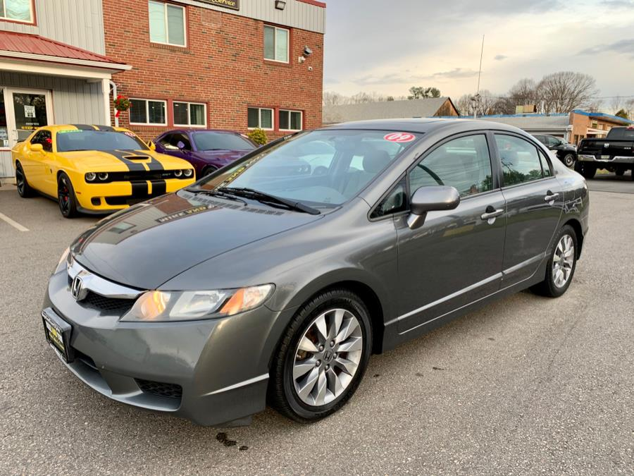 Used 2009 Honda Civic Sdn in South Windsor, Connecticut   Mike And Tony Auto Sales, Inc. South Windsor, Connecticut