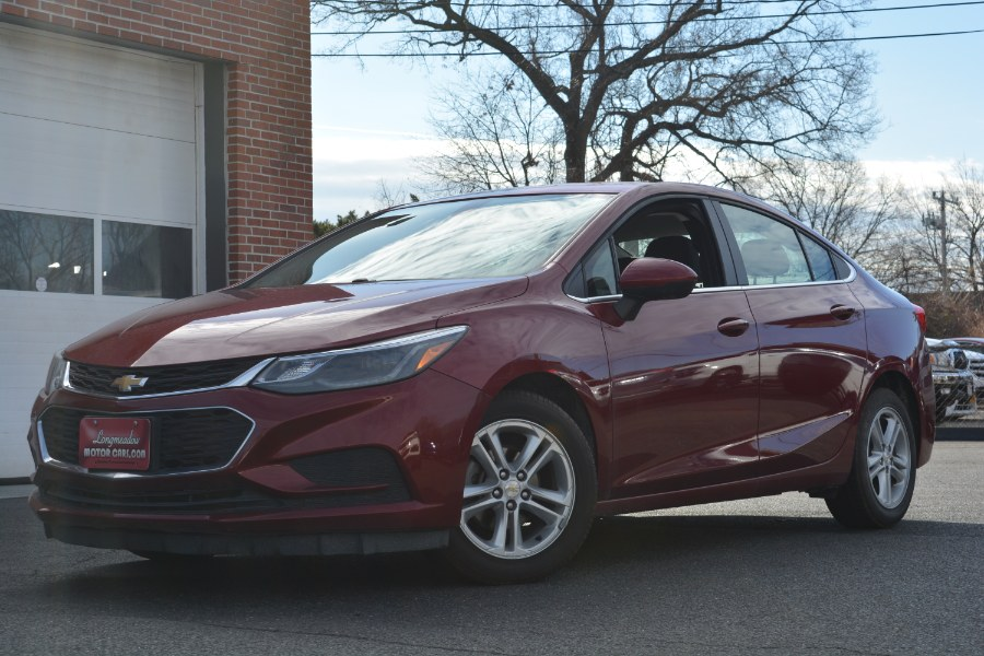 Used 2017 Chevrolet Cruze in ENFIELD, Connecticut | Longmeadow Motor Cars. ENFIELD, Connecticut