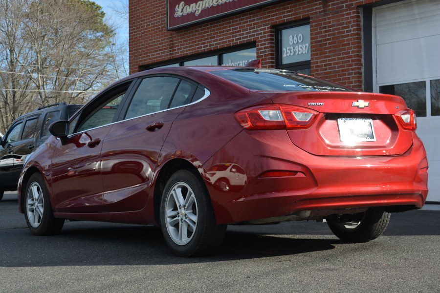 Used Chevrolet Cruze 4dr Sdn 1.4L LT w/1SD 2017 | Longmeadow Motor Cars. ENFIELD, Connecticut