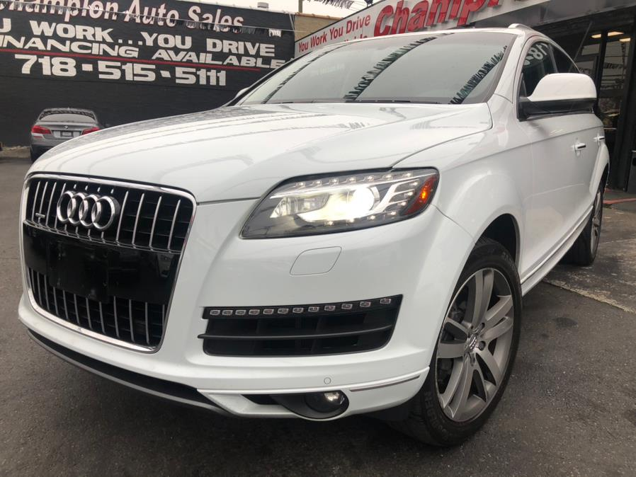 Used 2015 Audi Q7 in Bronx, New York | Champion Auto Sales Of The Bronx. Bronx, New York