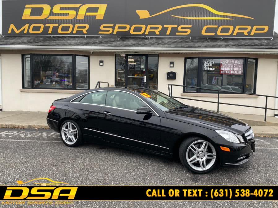 Used Mercedes-Benz E-Class 2dr Cpe E350 4MATIC 2013 | DSA Motor Sports Corp. Commack, New York