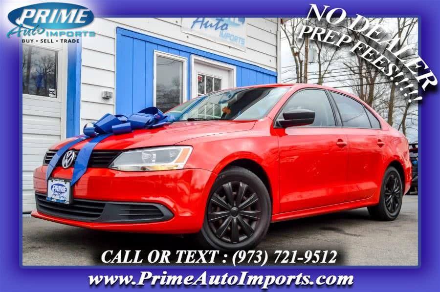 Used Volkswagen Jetta Sedan 4dr Auto S *Ltd Avail* 2013 | Prime Auto Imports. Bloomingdale, New Jersey