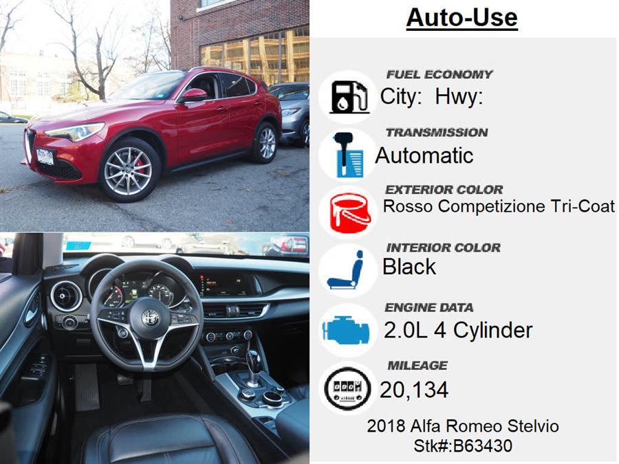 Used Alfa Romeo Stelvio Ti 2018 | Autouse. Andover, Massachusetts