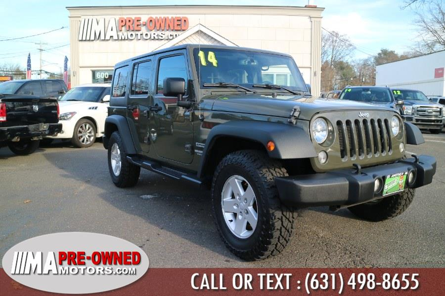 Used 2015 Jeep Wrangler Unlimited in Huntington, New York   M & A Motors. Huntington, New York