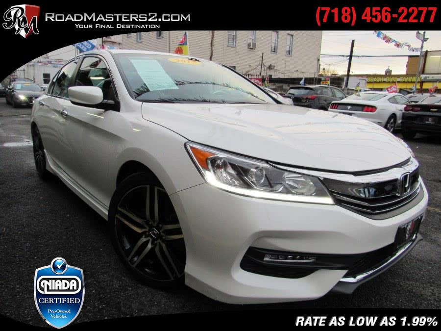 Used 2017 Honda Accord Sedan in Middle Village, New York | Road Masters II INC. Middle Village, New York